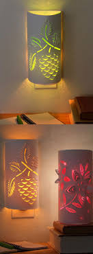 make your own lighting. Transform A Plain Night Light Into An Enchanting Paper Lantern. Download The Flower Or Pine Make Your Own Lighting