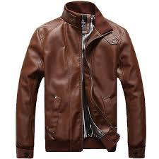 hot leather jacket men design stand jpg