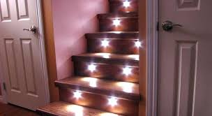 stairway led lighting. Automatic Stair Led Lighting Ideas Lights Stairway Kit . Handrail Staircase