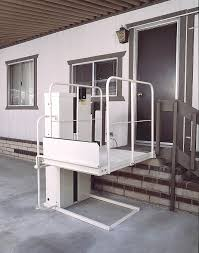 commercial wheelchair lift. VERTICAL PLATFORM LIFTS PROVIDE AMERICANS WITH DISABILITIES ACT (ADA) COMPLIANCE IN RESIDENTIAL AND COMMERCIAL APPLICATIONS Commercial Wheelchair Lift