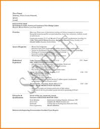Prep Cook Resume Templates Template Objective No Experience Free