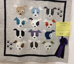 Sew Fresh Quilts: Let's Bee Social #202 & ... State Quilters Annual Spokane Quilt Show. I quilted each Doggy face  individually to enhance their features. I added your extra borders and also  quilted ... Adamdwight.com