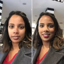 photo of sephora montreal qc canada before and after customized makeup