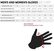 Youngstown Gloves Size Chart Mens Gloves Size Chart Images Gloves And Descriptions