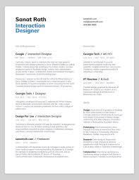 10 Amazing Designer Resumes That Passed Googles Bar