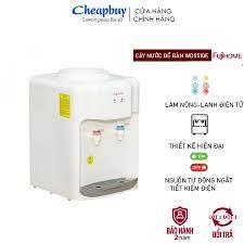 Cây nước nóng lạnh mini để bàn nhập khẩu FUJIHOME WD5510E tiết kiệm điện BH  2 năm - Máy nước nóng