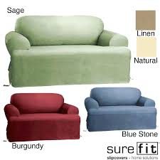 stretch t cushion sofa slipcover i5217 sure fit t cushion sofa slipcover dress up your couch