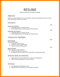 Resume Format Free Free Resume Example And Writing Download