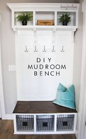 Dark Wood Coat Rack Mudroom Entrance Bench And Coat Rack 100 Wide Storage Bench Small 79