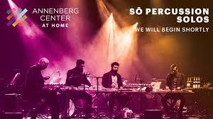 So Percussion - So Percussion was live.