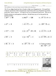 solving radical equations worksheet worksheets for all and share worksheets free on bonlacfoods com