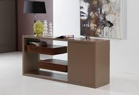 contemporary buffet w floating shelves