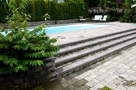 marvelous above ground pool stairs in pool traditional with fiberglass pools next to pool steps alongside