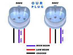 h4 h13 9004 9007 hid kit common problems hi low beam reverse 9004 9007 hid plug pin polarity pattern common h4 h13 9004 9007 bi
