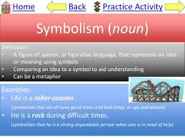figurative language symbolism