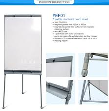 Magnetic Chart Paper Heigh Adjustable Aluminum Frame Office Used Paper Clip Board Magnetic White Board With Tripod Stand Buy White Board With Stand White Board With