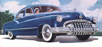 Antique Images Vintage Car Clip Art Buick Dark Blue From