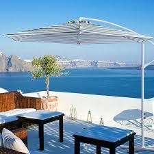 striped outdoor umbrella lovable design for patio ideas black and white