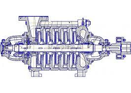 Насос для перекачивания нефти ЦНС дипломные работы   дипломные работы технология машиностроения Насос для перекачивания нефти ЦНС 180