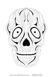 Skull Coloring Pages Anatomy Skull And Bones Coloring Pages Skull