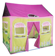 Amazon.com: Pacific Play Tents Kids Cottage Play House Tent Playhouse for  Indoor / Outdoor Fun - 58