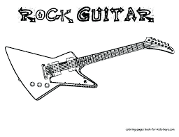 bass guitar coloring pages free coloring pages electric guitar coloring page guitar coloring page good acoustic