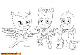 Pj Masks Coloring Pages Disney