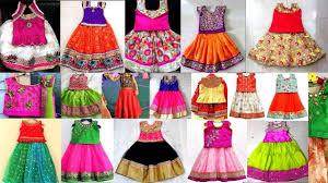 Full Blouse Designs For Children S Latest Pattu Langa Blouse Designs For Kids Latest Traditional Pattu Pavadai Designs