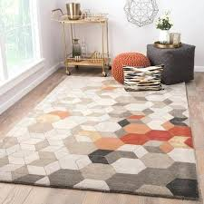 orange geometric rug handmade geometric light gray orange area rug x pink orange yellow geometric woven