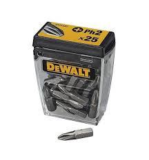 <b>Набор бит DEWALT DT71522</b>, PH2 x 25 мм, шт. DT71522-QZ ...
