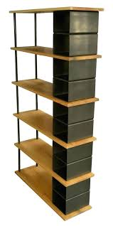 free standing bookshelves bookshelf custom made wood and metal industrial by plans shelf unit ikea
