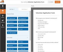 How To Set Up A Volunteer Application Form In Wordpress