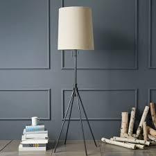 West Elm Adjustable Metal Floor Lamp