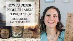 Product Label Design Online Free Online Label Template How To Design Product Labels In Photoshop Bumblebee Apothecary