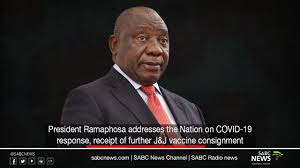 The presidency spokesperson dismissed that the president's device went missing, saying it was just a cheerful. President Ramaphosa Addresses The Nation On Covid 19 Response Youtube