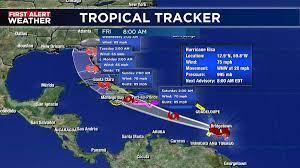 Hurricane Elsa bears down on Barbados ...