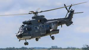 Luchtmacht - AS532 Cougar helikopter Texel Airport 2018 - YouTube