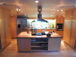 Led Track Lighting For Kitchen Kitchen Modern Kitchen Track Lighting With Chrome Track And White