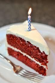 slice of birthday cake red velvet. Interesting Red Happy Birthday Jokes And Snacks August Everyone Else And Slice Of Birthday Cake Red Velvet E