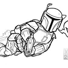 Boba Fett Coloring Pages Printable At Getdrawingscom Free For
