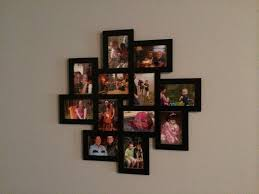 A collage frame is a romantic paper anniversary gift idea.