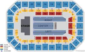 Seating Chart Dow Event Center