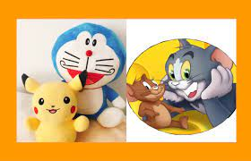 Imagination from animation - Imagine the future cat Doraemon and Pikachu  mouse take a time machine to visit their relatives Tom & Jerry in an old  folks time.. : Design