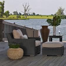 coastal style furniture. woven rattan outdoor furniture coastal style