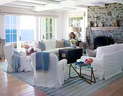 beach style living room furniture. Cool Living Room Furniture For Beach Style With Stone Fireplace Y
