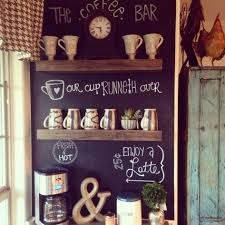 Chalkboard Kitchen Wall Kitchen Accessories Multi Rods On Small Wall Decorative