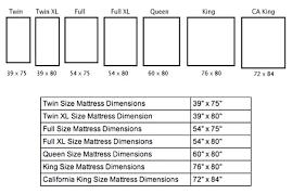 Full Size Mattress Vs Queen Full Size Mattress Measurements Full
