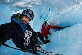 Mountain hero Will Gadd explores beneath the Greenland ice cap