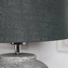 rustic grey stone round table lamp melody maison for ideas 11