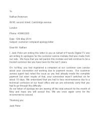Apologize Sample Letters 48 Useful Apology Letter Templates Sorry Letter Samples